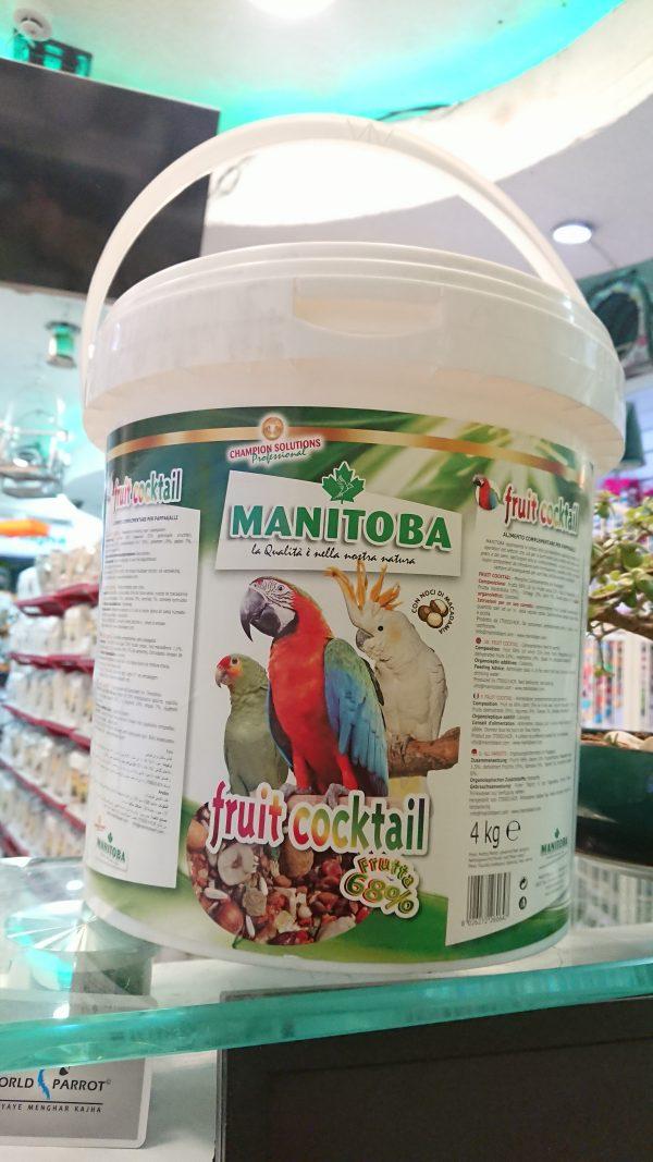 Manitoba Fruit Cocktail Parakeets 26064 Birdfood Parrot منیتوبا منی توبا